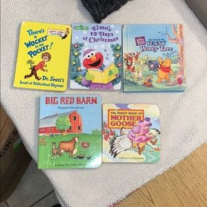 Bundle of 5 Smaller baby books